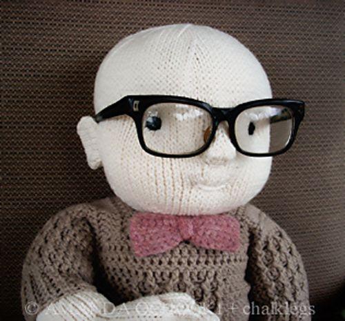 Hand knit baby! #knitting