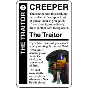 The Traitor Promo Card Fluxx Cards Traitor How To Get