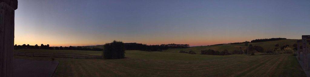 Ponatahi at dusk by Charlotte