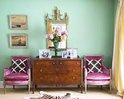 Bilderesultat for mint green pink  kids room