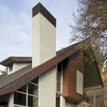 Mea Los Gatos Residence Modern Exterior Chimney Cap