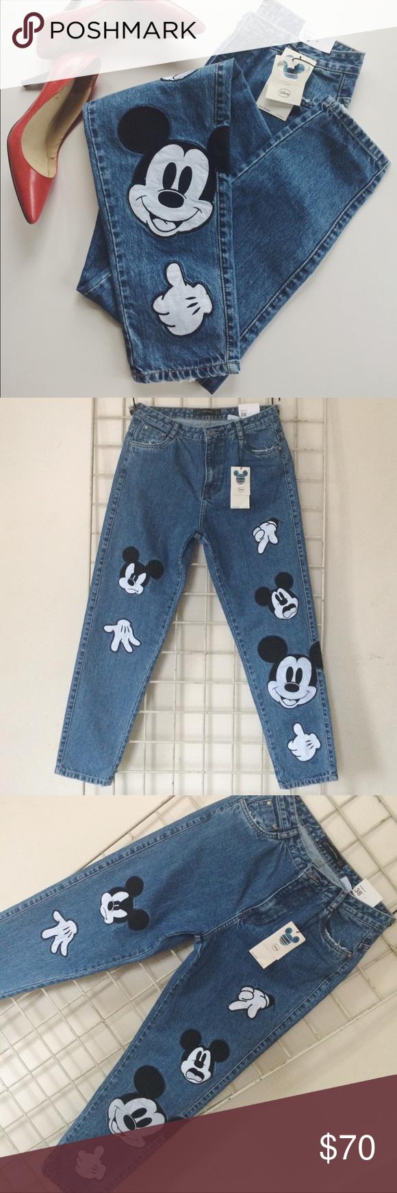 تقدم استبداد بورجون Jeans Zara Mickey Mouse Cabuildingbridges Org