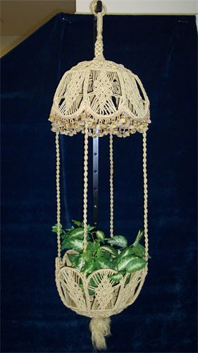 macrame plant hanger pattern free macrame plant hanger patterns free search 3394