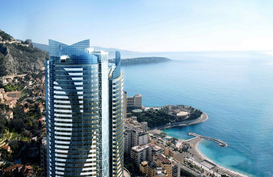 Concept image of the ultra-extravagant OdeonTower in Monaco. Touted as the most expensive penthouse in the world.