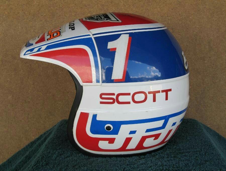 David Bailey Als1 Helmet Vintage Motocross Helmet David Bailey
