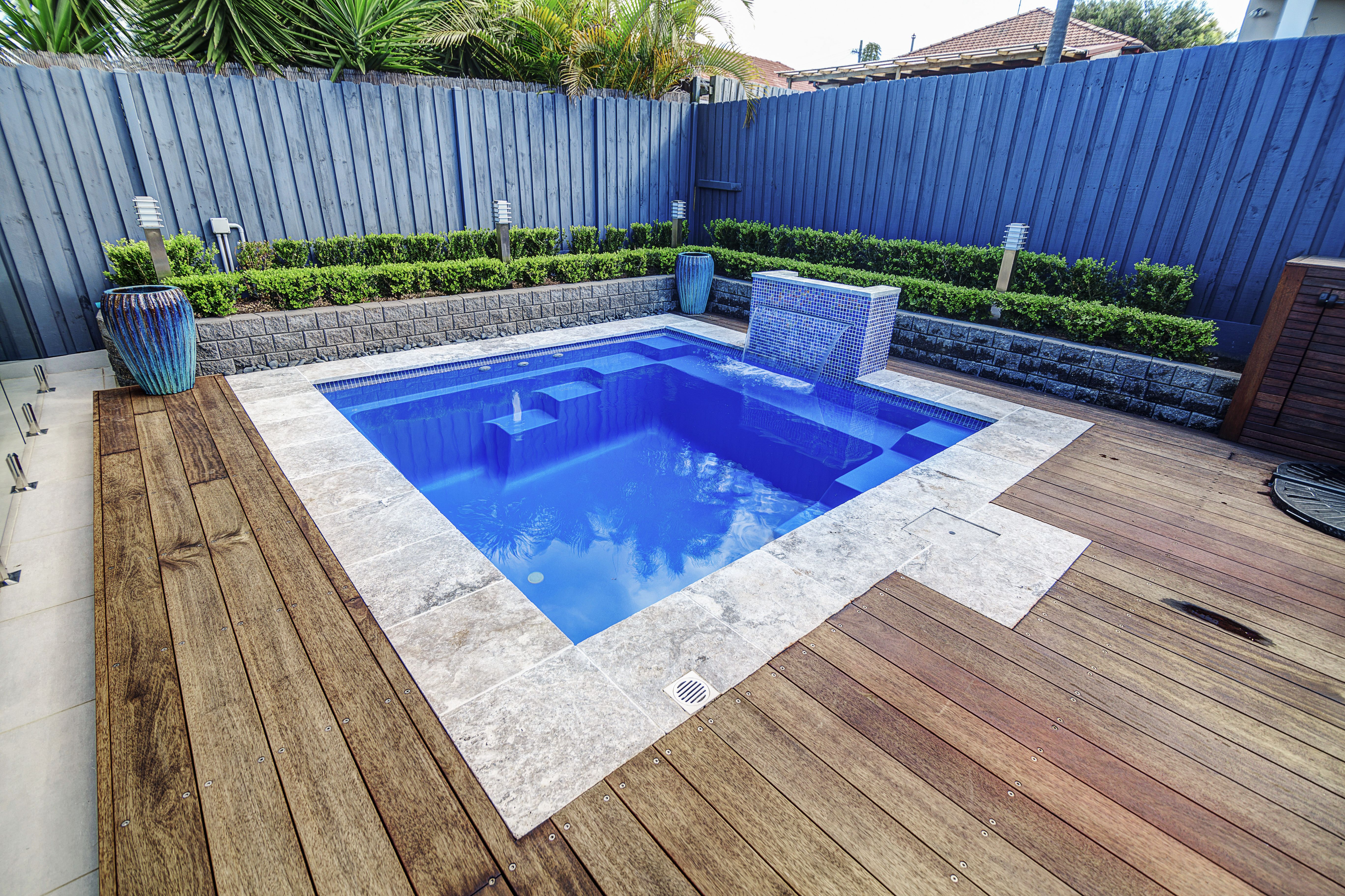 Narellan Pools Eden Plunge Pool Live The Dream Swimming Pool Installation Plunge Pool Fiberglass Swimming Pools