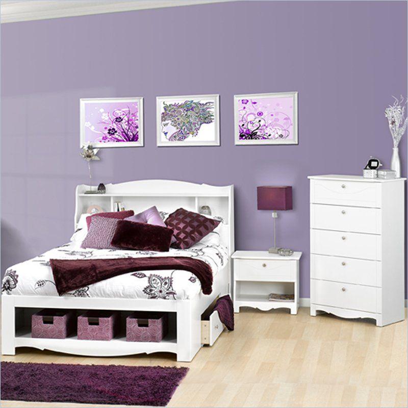nexera furniture website. nexera dixie white platform storage bed furniture website