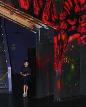 stratum laser tag in mesa has a large laser tag arena laser tag can be