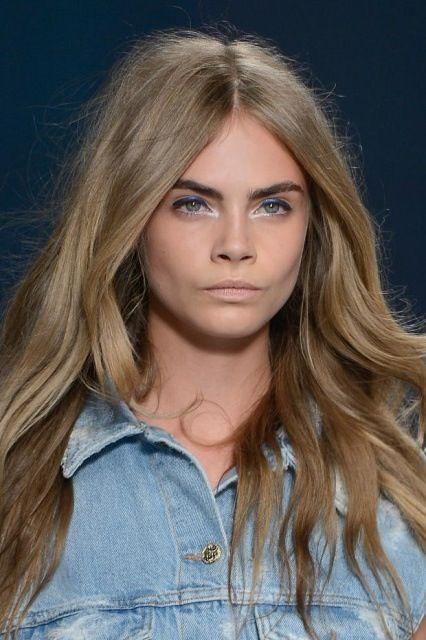 Pin by Meredith Conroy on hair dos | Cara delevingne hair color. Cara delevingne hair. Blonde hair blue eyes