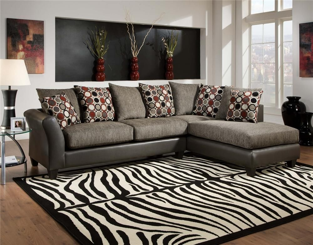 Avanti Graphite Sectional