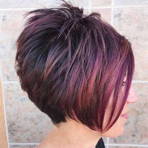 20 fantastische Haarfarben für kurzes Haar #curlshorthair