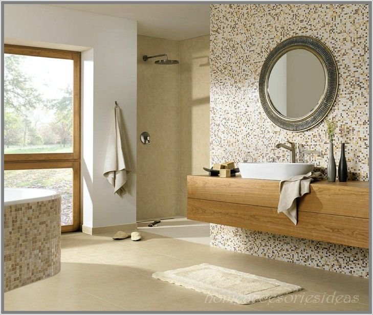 Mosaikfliesen Bad bad fliesen ideen mosaikfliesen ideen bad mit natuerlichem