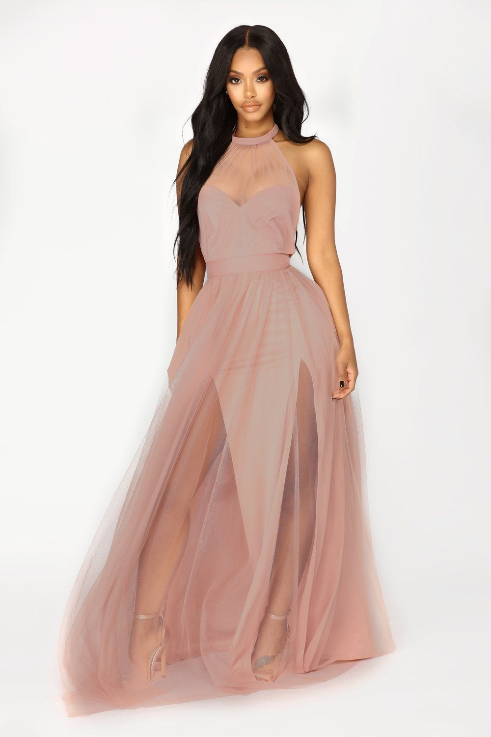 6257ea001873 Off The Tulle Gown - Blush in 2019   FN Favorites   Tulle gown ...