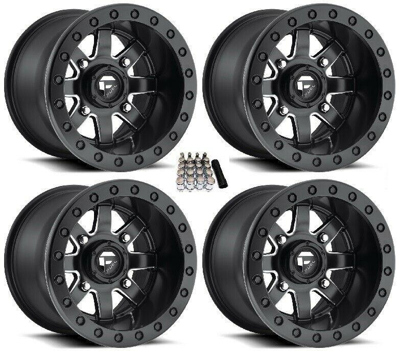 "ITP Hurricane UTV Wheels//Rims Matte Black 12/"" Polaris Ranger 900 XP 4"