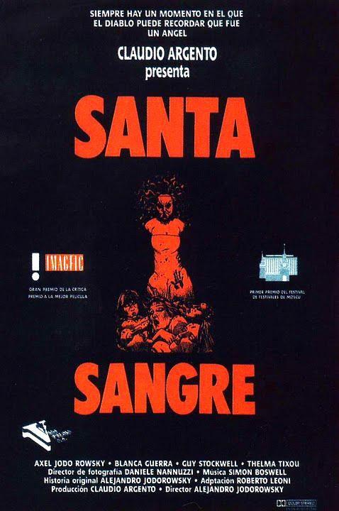 Santa Sangre 1989 Mexico Dir Alejandro Jodorowsky Terror Drama Peliculas De Culto Dvd Cine 428 Peliculas De Culto Jodorowsky Director De Fotografia