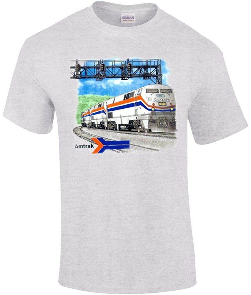 Amtrak Genesis Authentic Railroad TShirt T shirt
