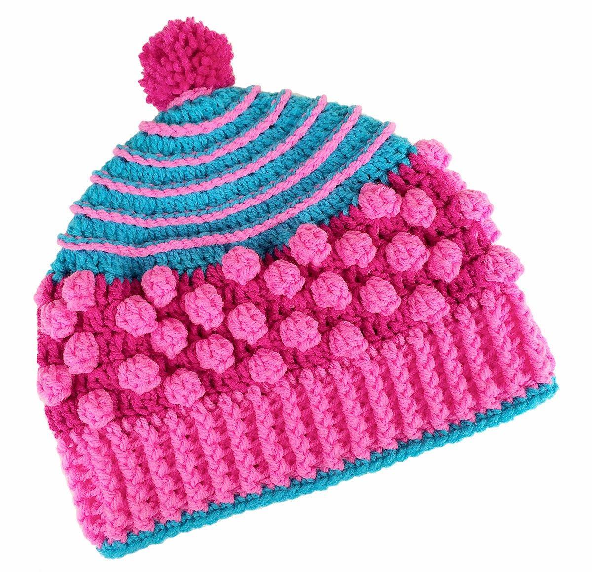 Carolyn Christmas Designs: Popcorn Pizzazz Hat Pattern