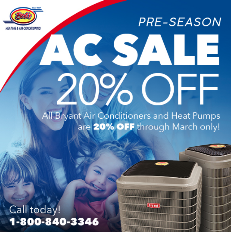 T S Here The 2019 Pre Season Air Conditioner Sale Is Back For
