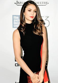 "Nina Dobrev attends the ""Bridge of Spies"" Premiere at 53rd New York Film Festival (Oct 04)"