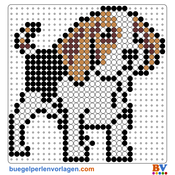 Hund Bügelperlen Vorlage Idee Pinterest Bügelperlen Bügel Und