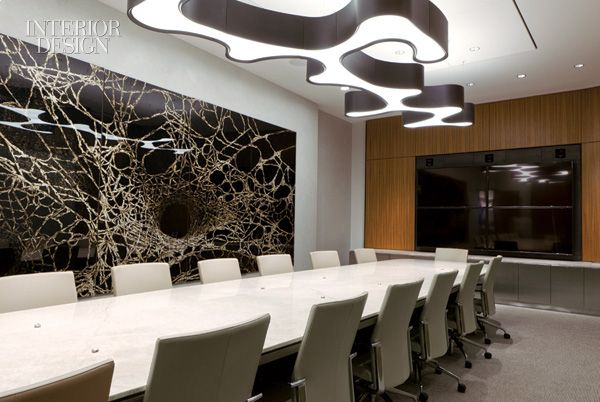 Quietly Peace Pervades A Chicago Trading Firm By Perkins Will Conference MeetingConference RoomOffice Interior DesignDesign