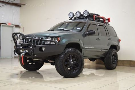 Custom Jeep Grand Cherokee Overland 4x4 Lifted Tv Dvd Navi Two Way Radio Tow Lifted Jeep Cherokee Grand Cherokee Overland 2006 Jeep Grand Cherokee