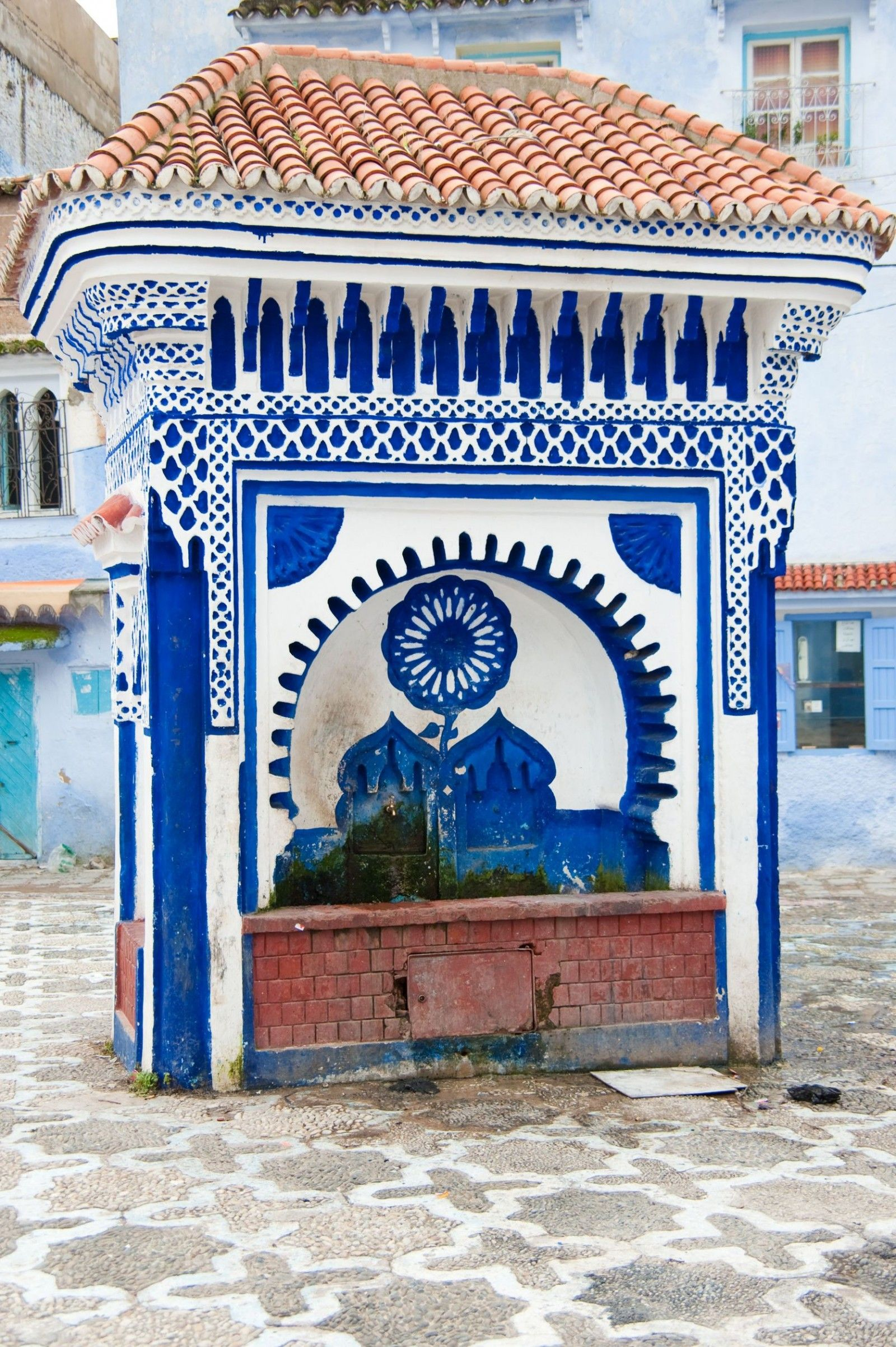 Image of Fountain Of Chefchaouen, Morocco - Maroc Désert Expérience tours http://www.marocdesertexperience