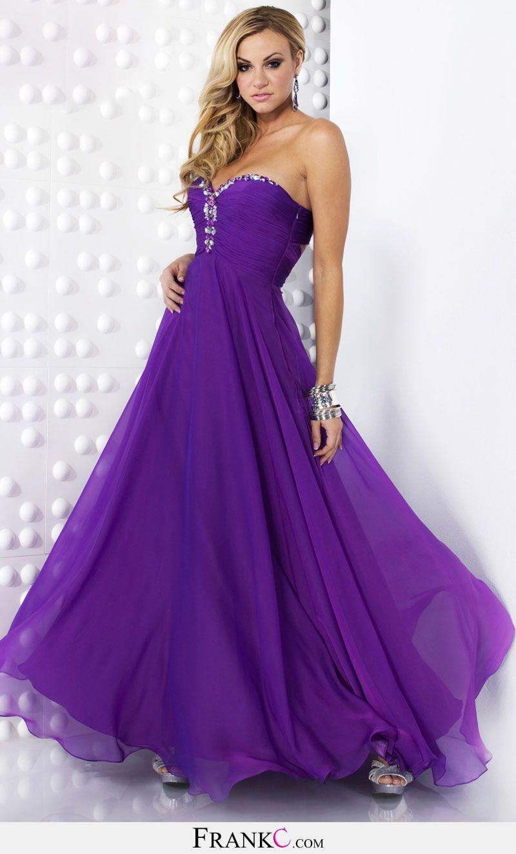 purple prom dress,chiffon prom dress | prom/semi formal | Pinterest