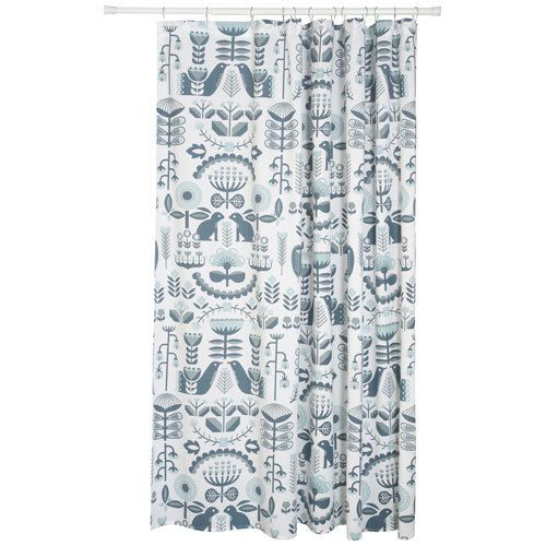 Folklore Shower Curtain By Danica Studio