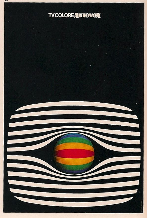 Poster from Graphis 75 by Ettore Vitale.