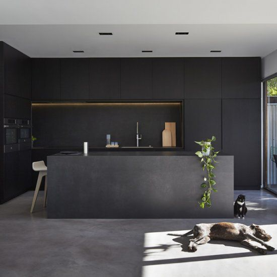 M House Is A Minimalist House Located In Melbourne