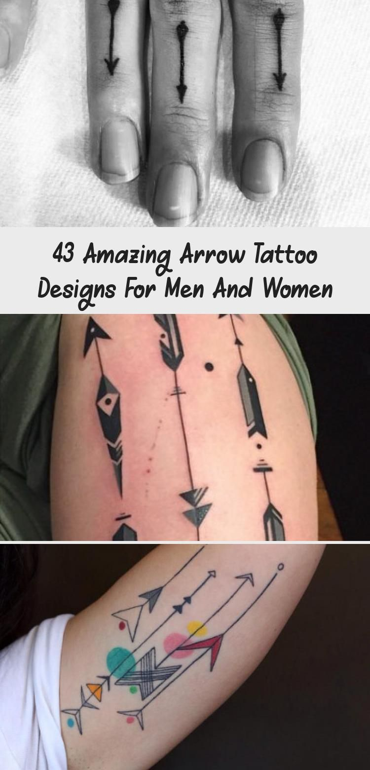 Geometric Arrow Tattoo von Jai Cheong   Geometrisches Pfeil Tattoo von Jai Cheong