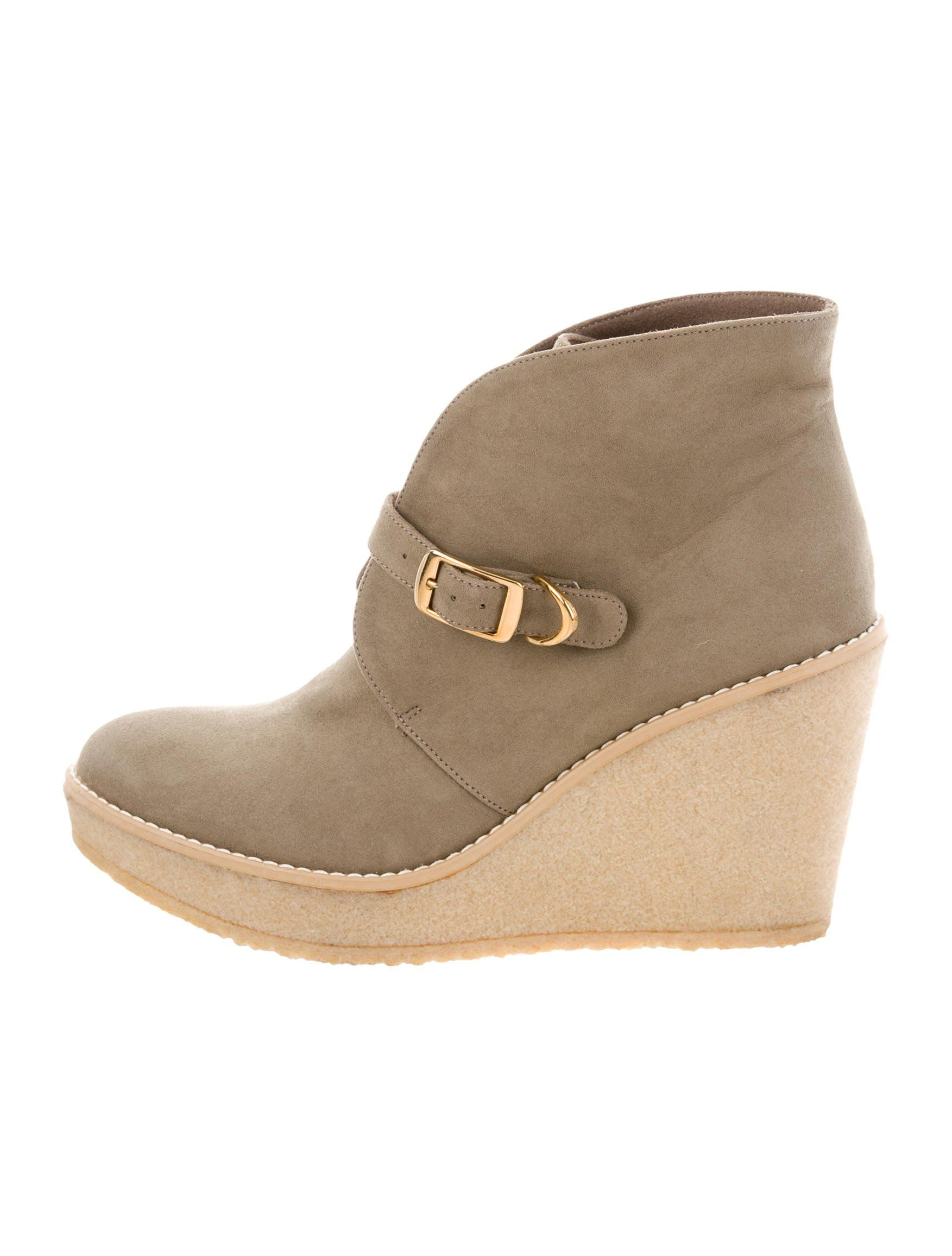 Stella McCartney Round-Toe Wedge Ankle Boots shop online soLhnzHu
