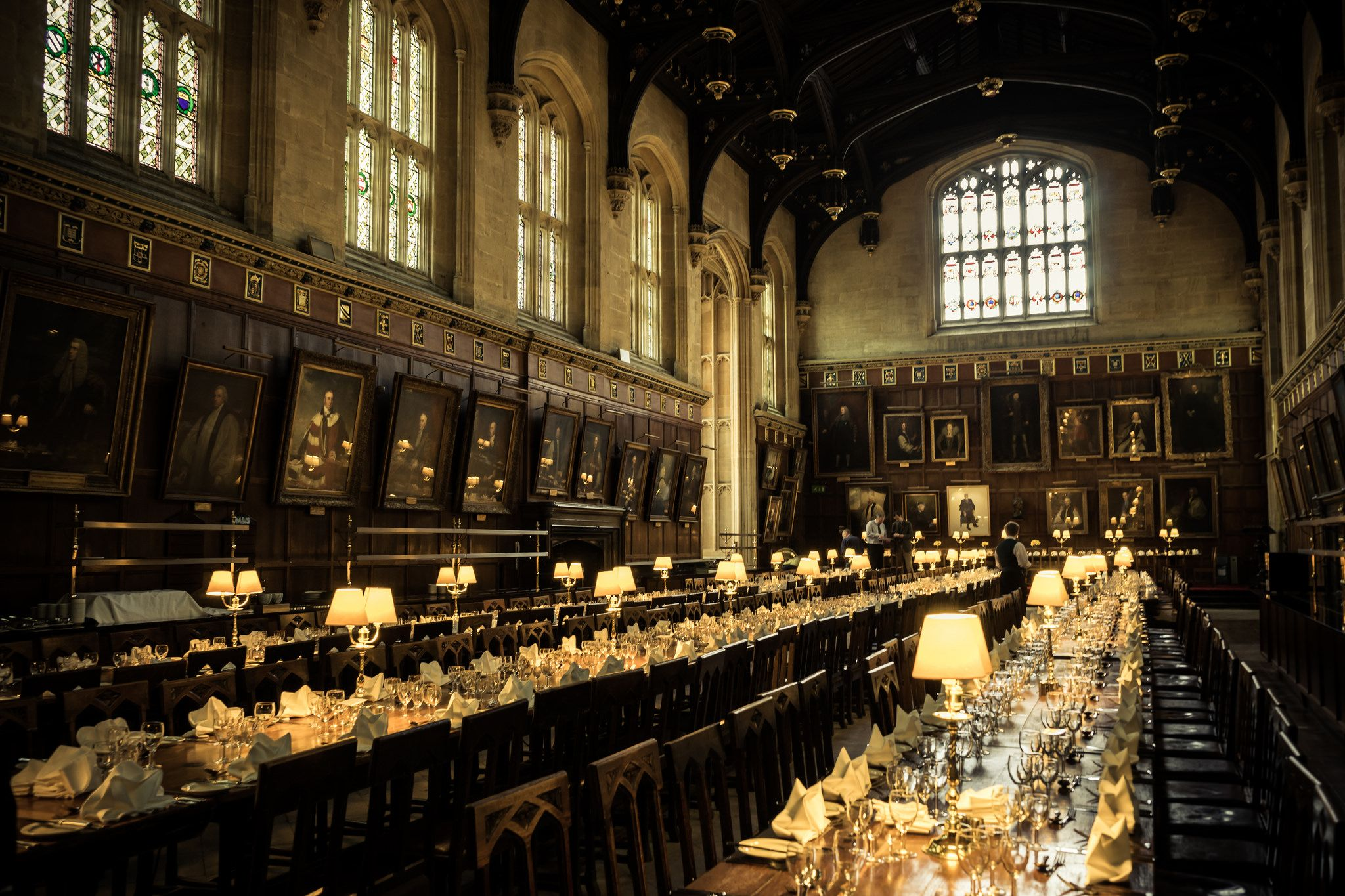 The Dining Hall At Christ Church College Oxford Photographed By Cedric Favero