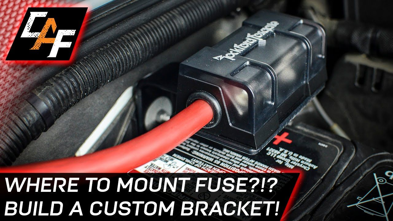 2 Installing An Amplifier Mount The Fuse Correctly Jeep Build Wiring Car Audio Amplifiers For Two