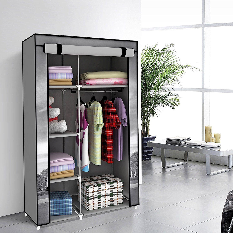 42 Portable Clothes Closet Non Woven