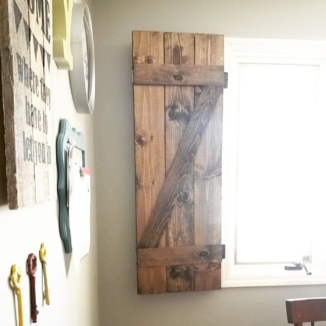 Barn Door Curtain Or Shutter For Window Shutters With Curtains