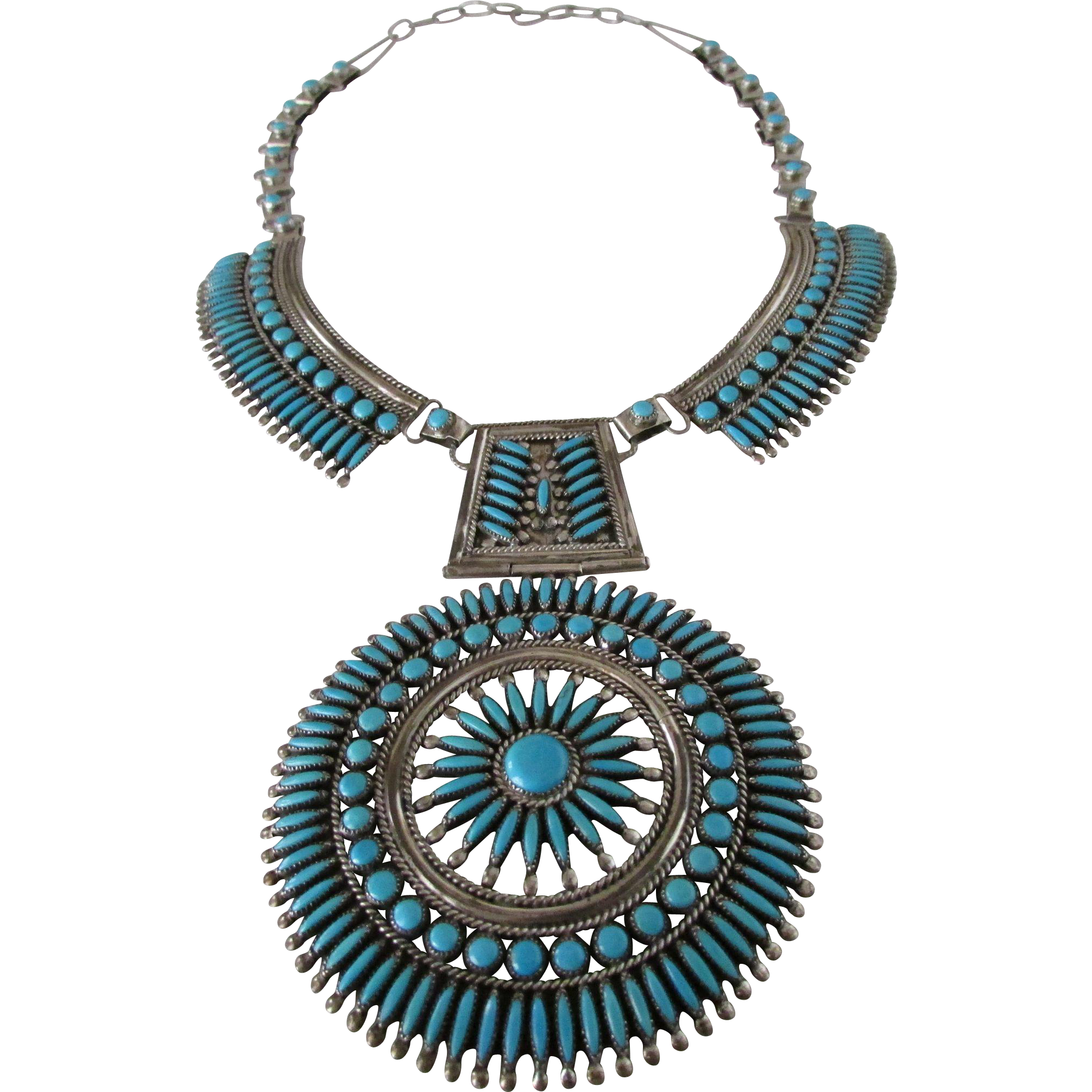 fullxfull zuni pendant listing snake gallery photo vintage turquoise cross old pawn necklace eye il