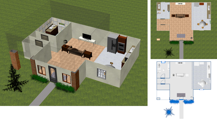 When you want to design and build your own dream home, you have an opportunity to make your dreams become a reality. Dreamplan Home Design Software Home And Landscape Planning And Design Software Visualize And Plan Your Dre Home Design Software Free House Design House Design