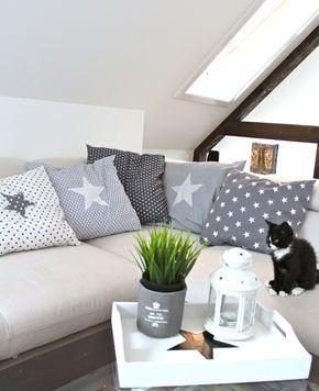kissenbez ge hnlich greengate selber n hen pinterest kissen sterne und n hen. Black Bedroom Furniture Sets. Home Design Ideas