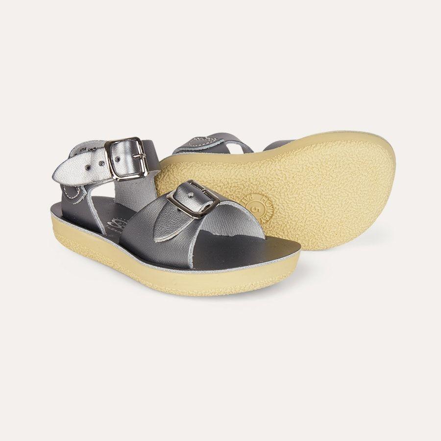 Surfer Sandal, Salt Water Sandals Sandals, Grey, US 8 in