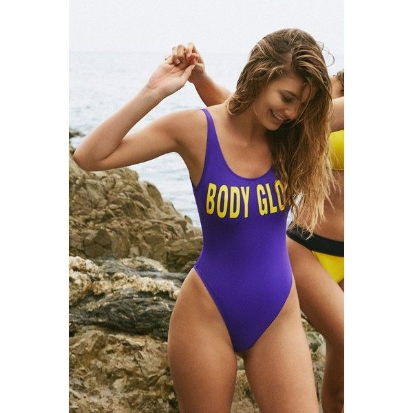 6e3b2f2ae24 Body Glove  80 Throwback The Look One-Piece Swimsuit (265 ILS) ❤ liked on  Polyvore featuring swimwear