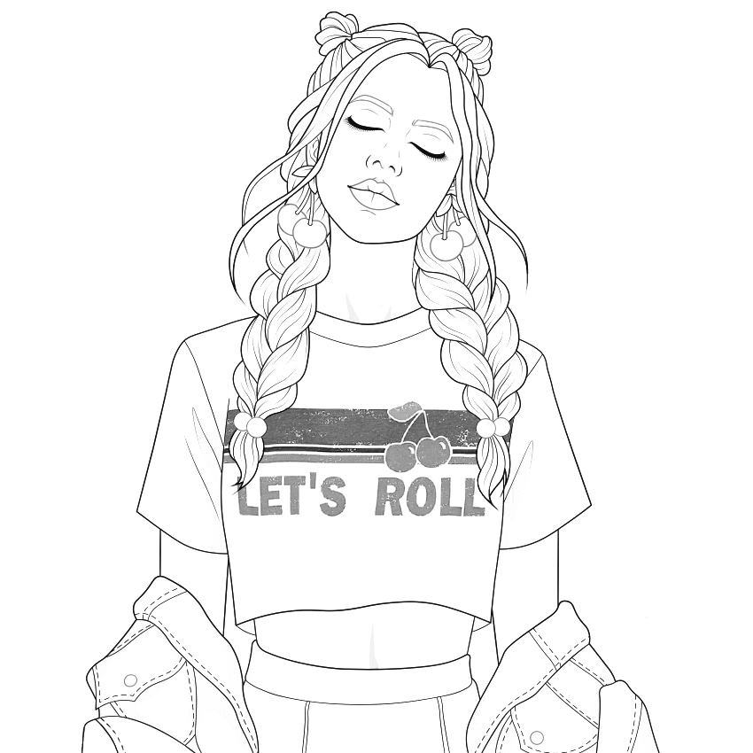 People Coloring Pages Girly Drawings Cute Coloring Pages