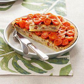 Torta di riso e tonno con pomodori - Scuola di cucina ...