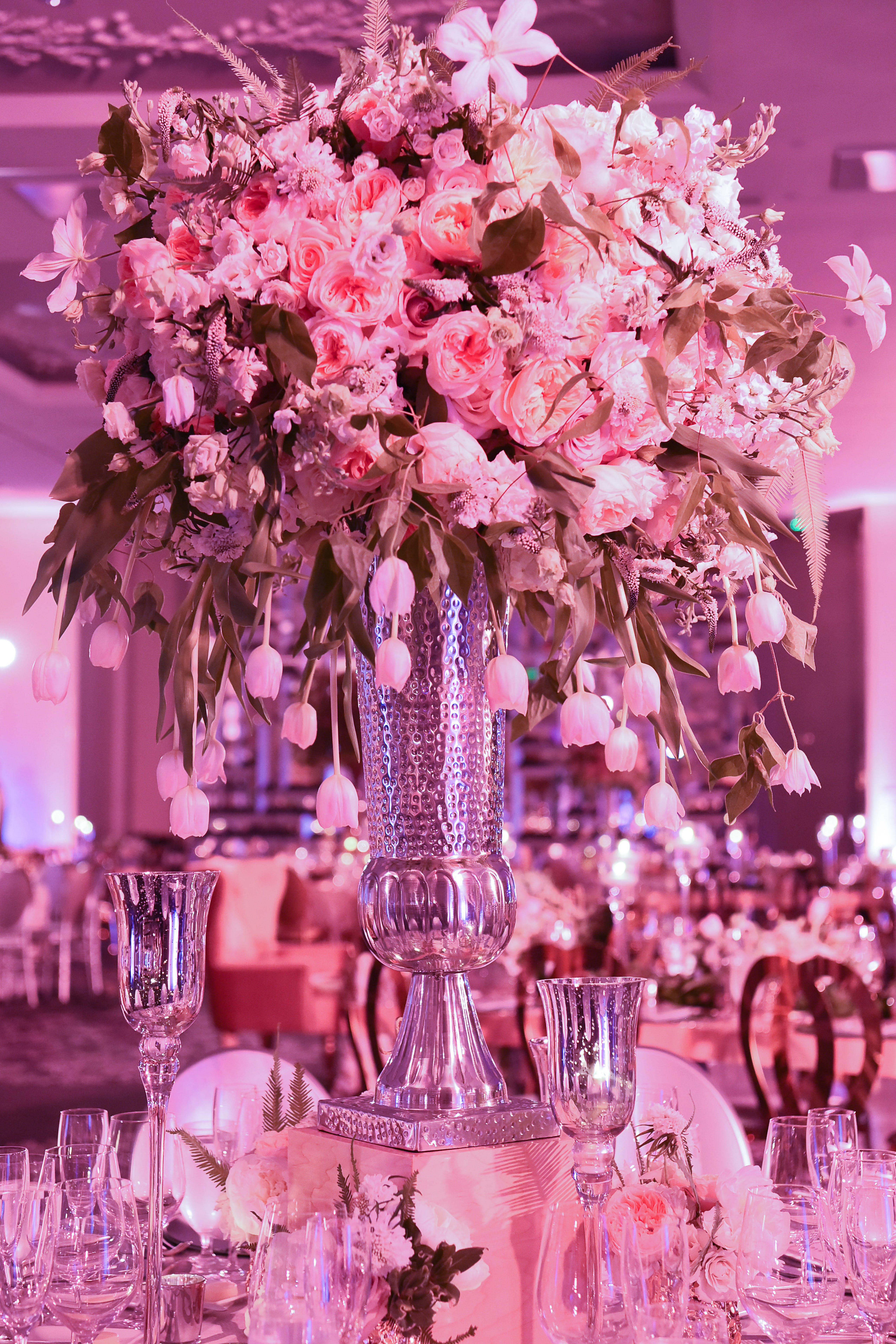 Romantic St Regis Bal Harbour Wedding Party Rentals And Decor By Gilded Group Decor Miami Event Design Miami Event D Wedding Decorations Event Decor Decor