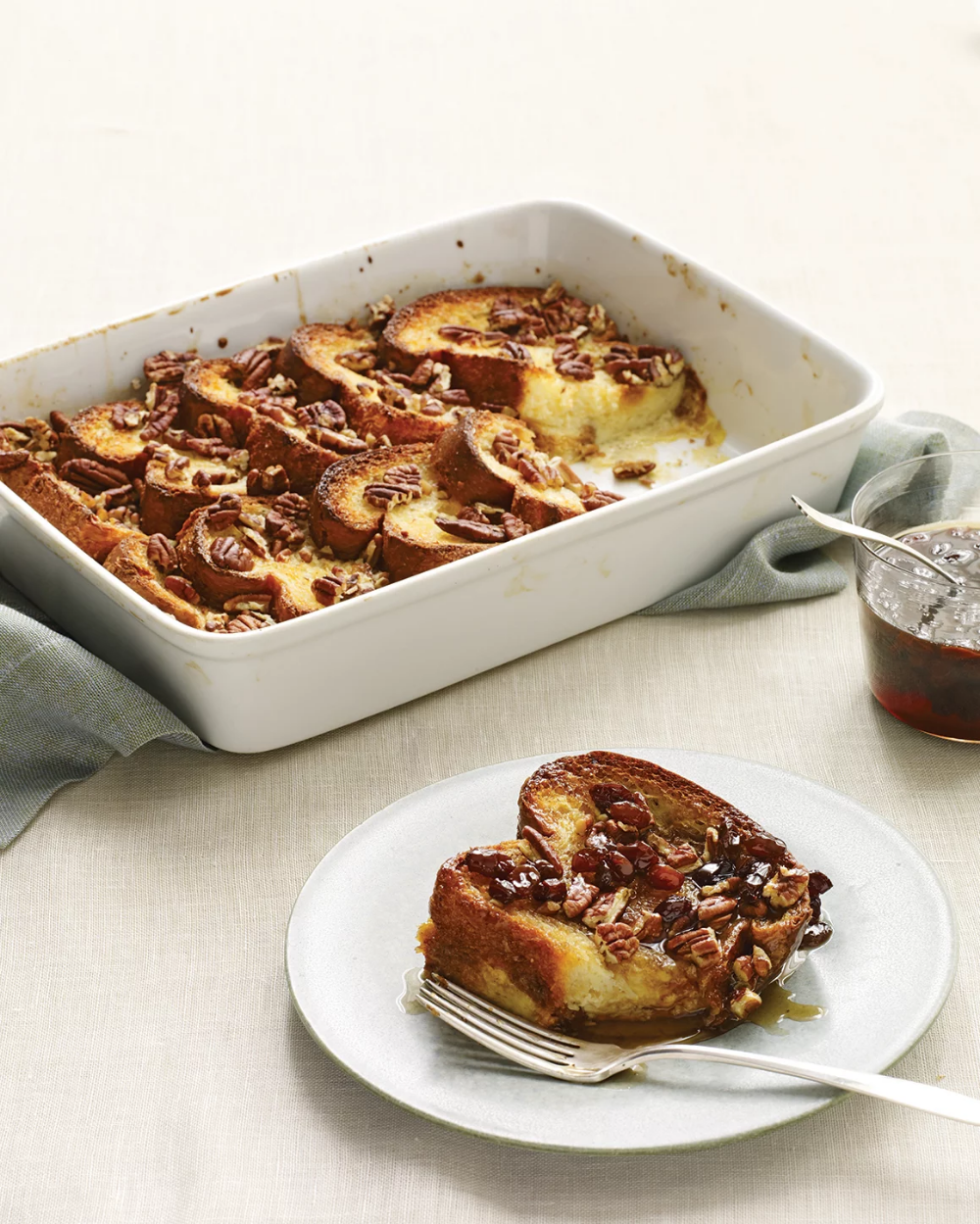 Baked French Toast  Baked pecan french toast