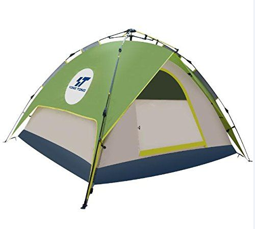 Best C&ing Tents | Yongtong 34 person 4 Season Outdoor Tents Automatic Pop Up Ultralight Tent  sc 1 st  Pinterest & Best Camping Tents | Yongtong 34 person 4 Season Outdoor Tents ...