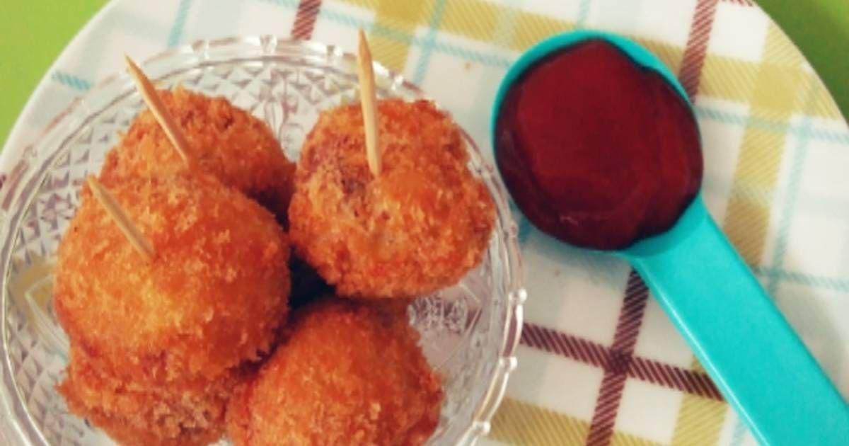 Resep Bitterballen Kornet Keju Oleh Fitria Nur Hastuti Resep Resep Makanan Resep Makanan