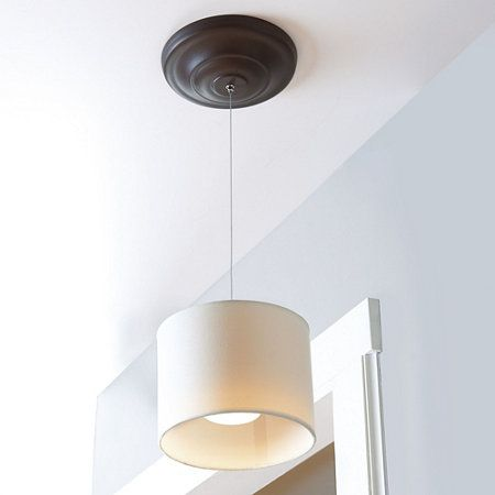 Wireless led fabric pendant light light fixtures pinterest wireless led fabric pendant light aloadofball Choice Image