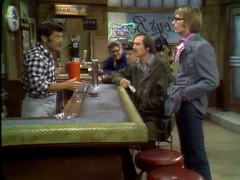 """Tony Geary as """"Roger"""" on """"All in the Family"""" (part 2 of 3, youtube)."""